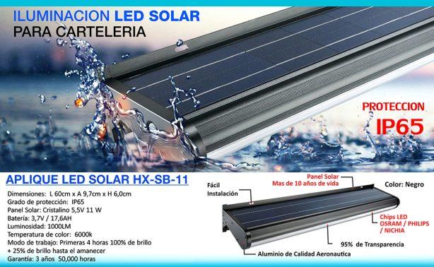 WEB3 2020 APLIQUE SOLAR HX-SB-11
